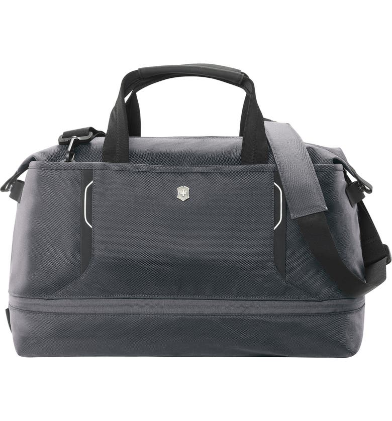 VICTORINOX SWISS ARMY<SUP>®</SUP> Werks 6.0 Duffle Bag, Main, color, GRAY