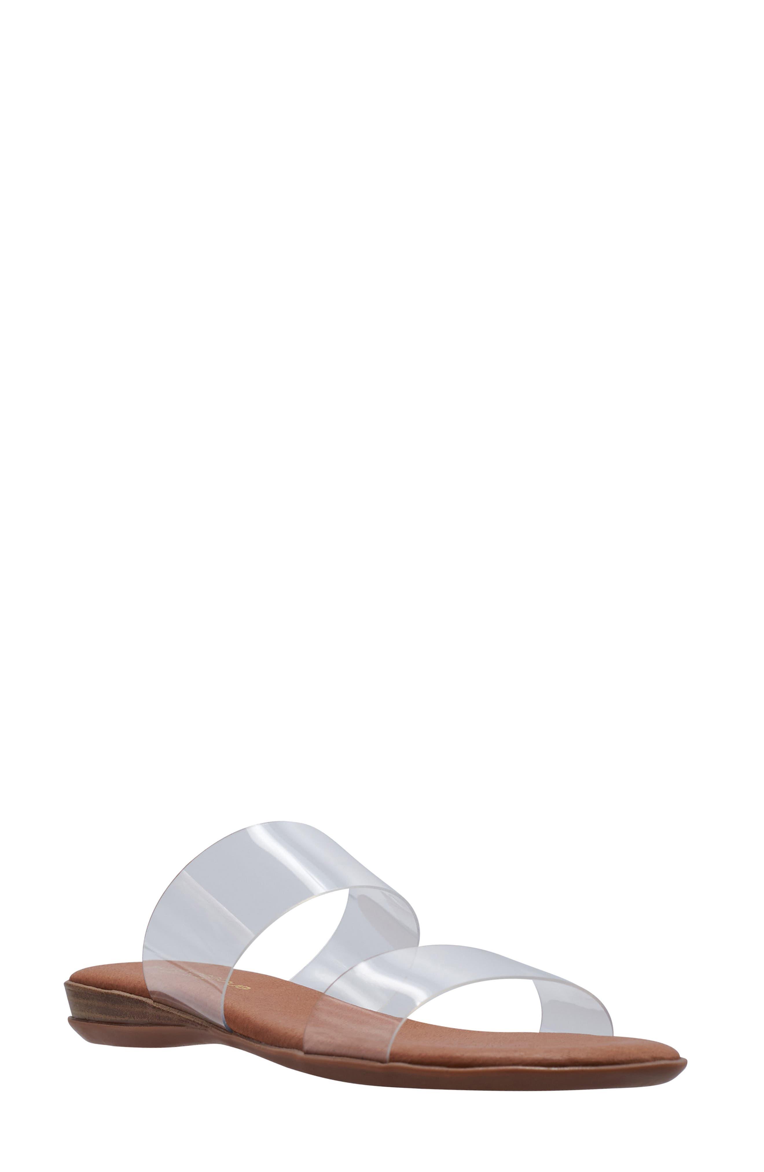 Narice Clear Slide Sandal
