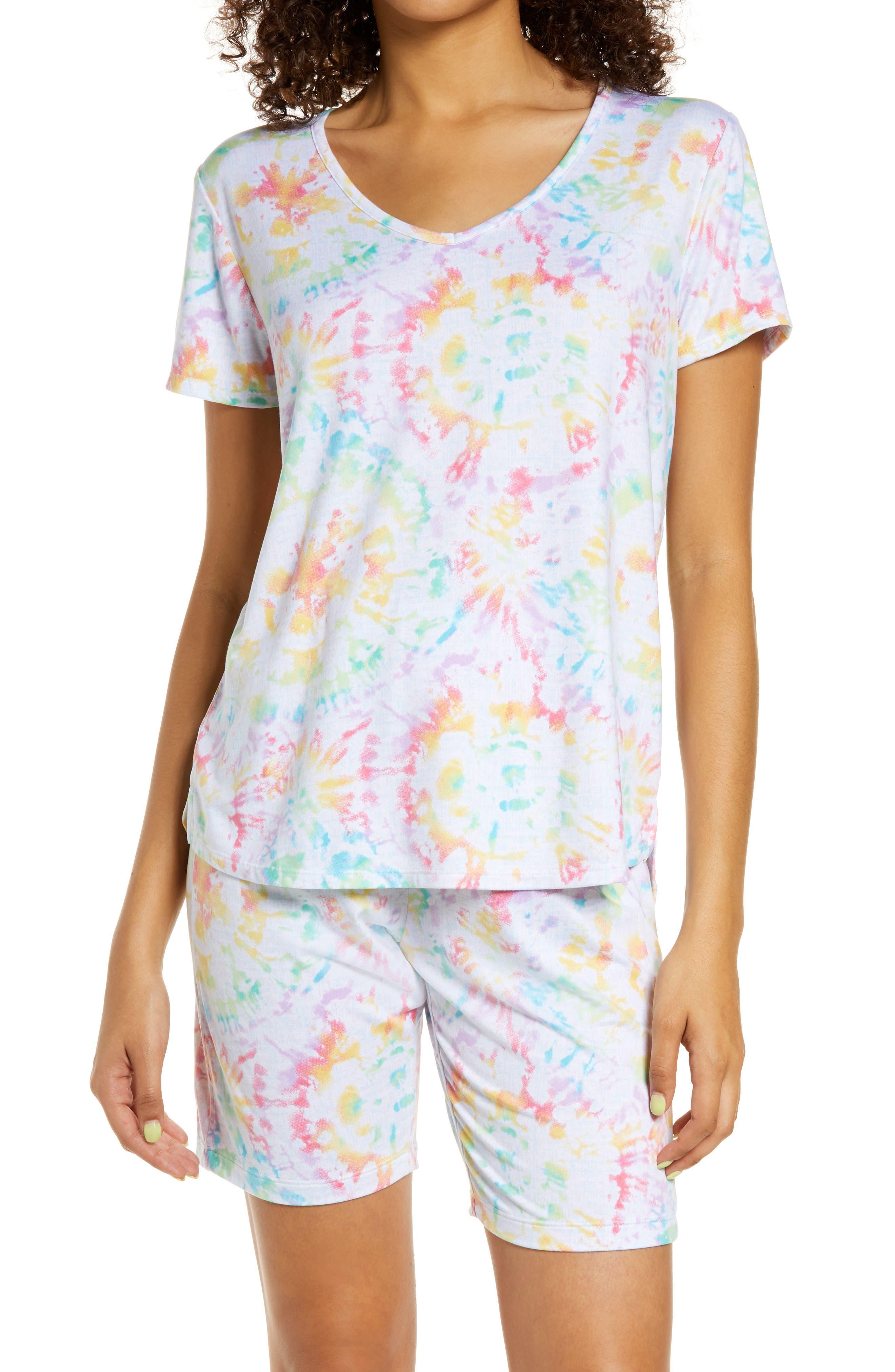 T-Shirt & Bermuda Shorts Pajama Set