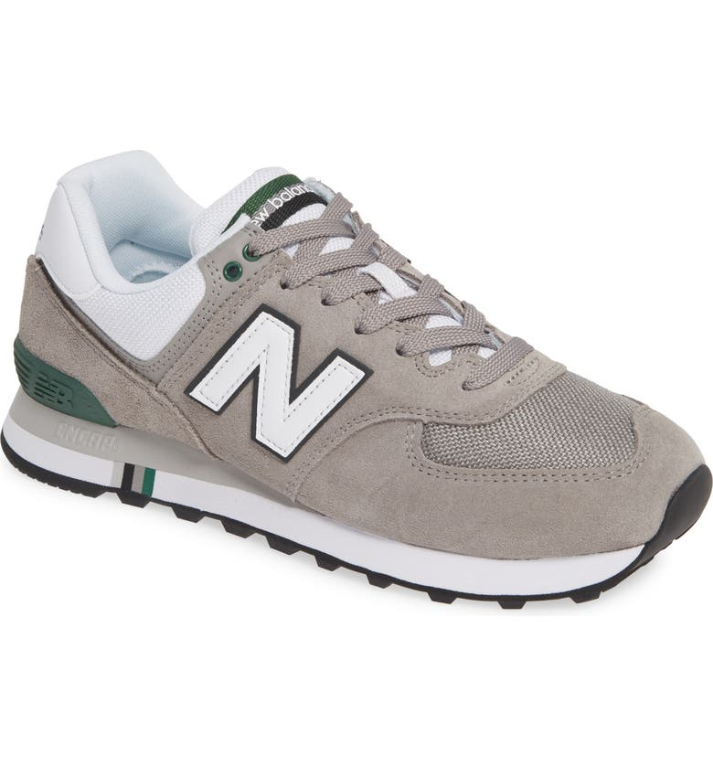 NEW BALANCE 574 Sneaker, Main, color, MARBLEHEAD GREY SUEDE