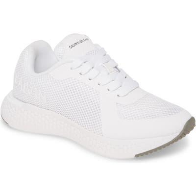 Calvin Klein Jeans Alma Sneaker, White