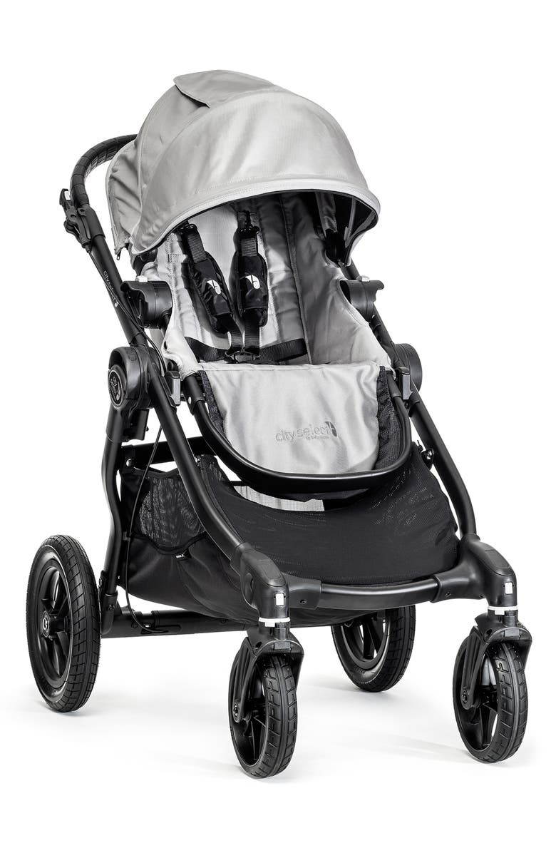 BABY JOGGER City Select<sup>®</sup> Stroller & Belly Bar, Main, color, SILVER