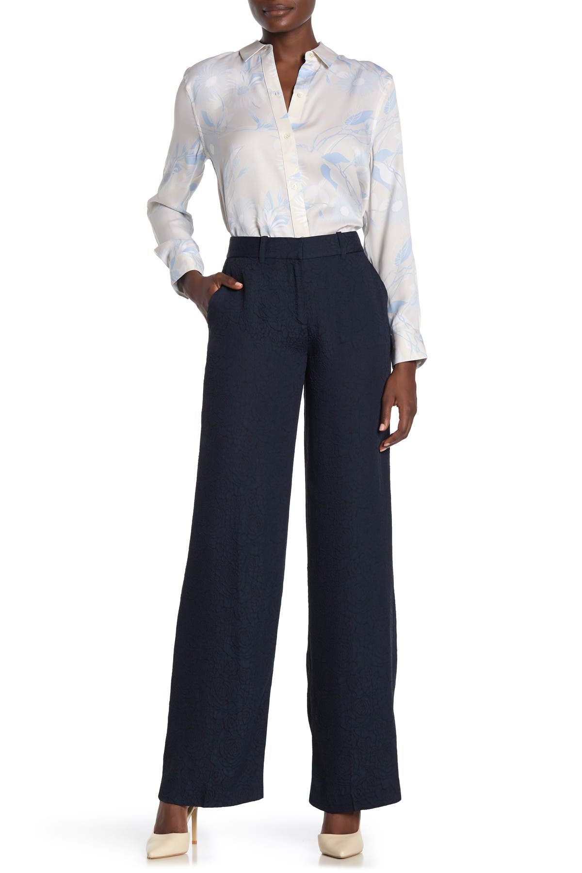 Image of Equipment Arwen Solid Trousers