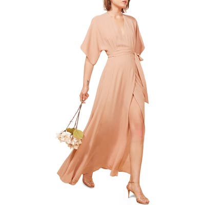 Reformation Winslow Maxi Dress, Pink