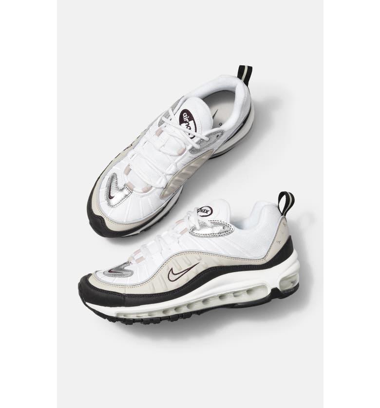NIKE Air Max 98 Sneaker, Main, color, 004