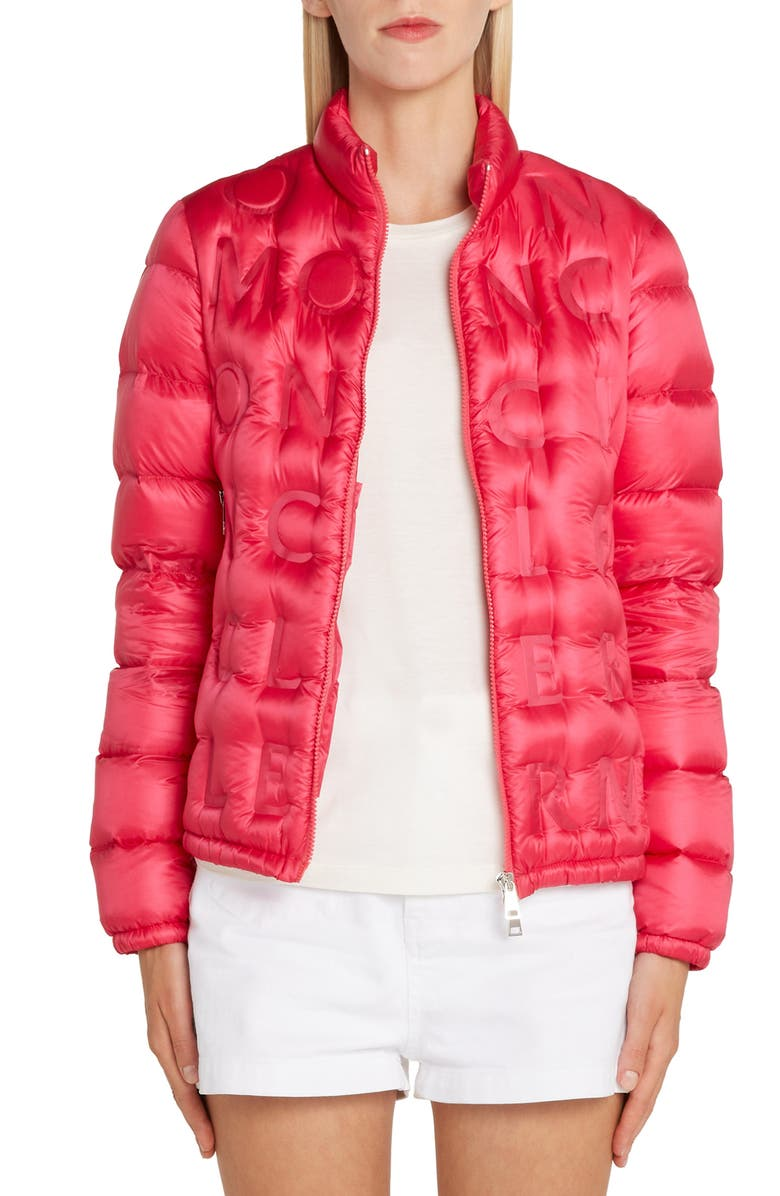 MONCLER Vilnius Quilted Down Coat, Main, color, 650
