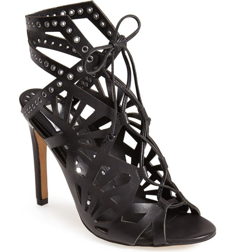 DOLCE VITA 'Helena' Cutout Sandal, Main, color, 001