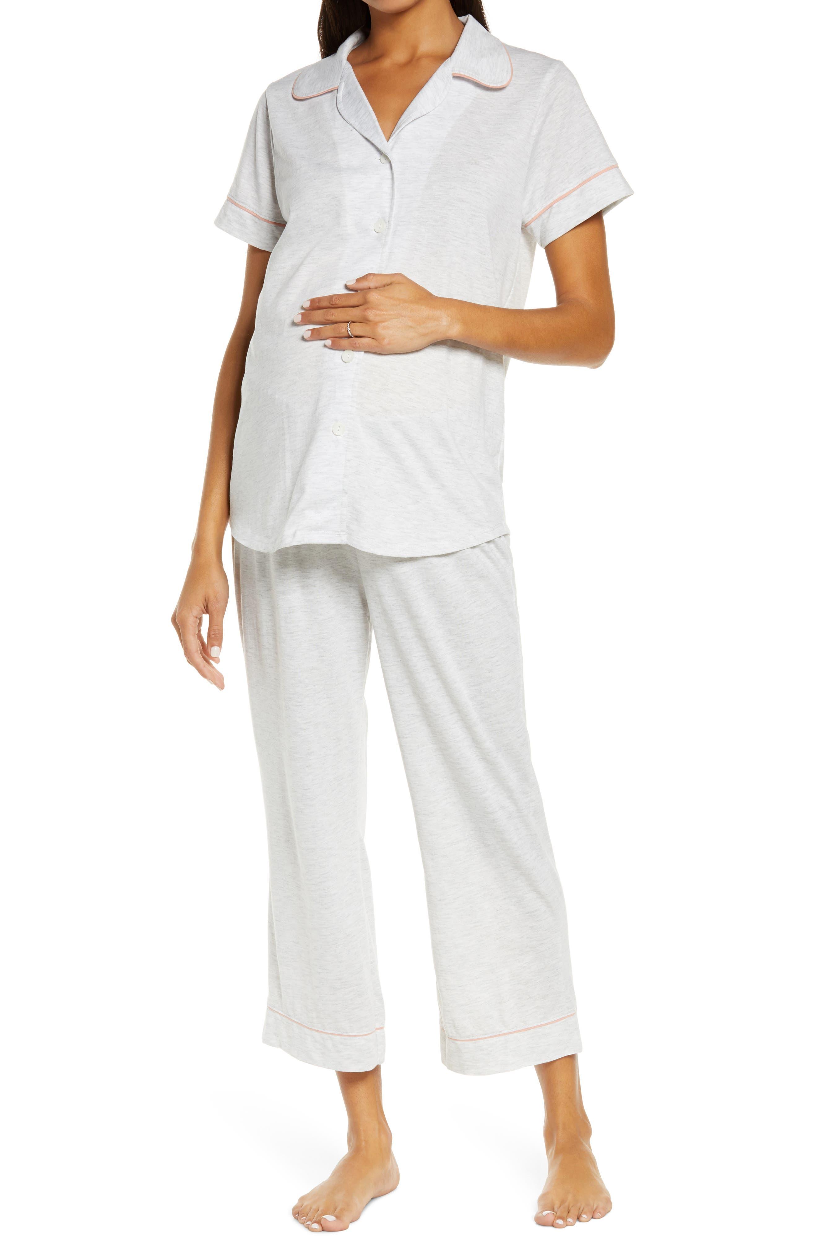 Lounge Chic Maternity/nursing Capri Pajamas
