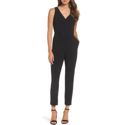 Ali & Jay Sleeveless Slim Leg Asymmetrical Jumpsuit