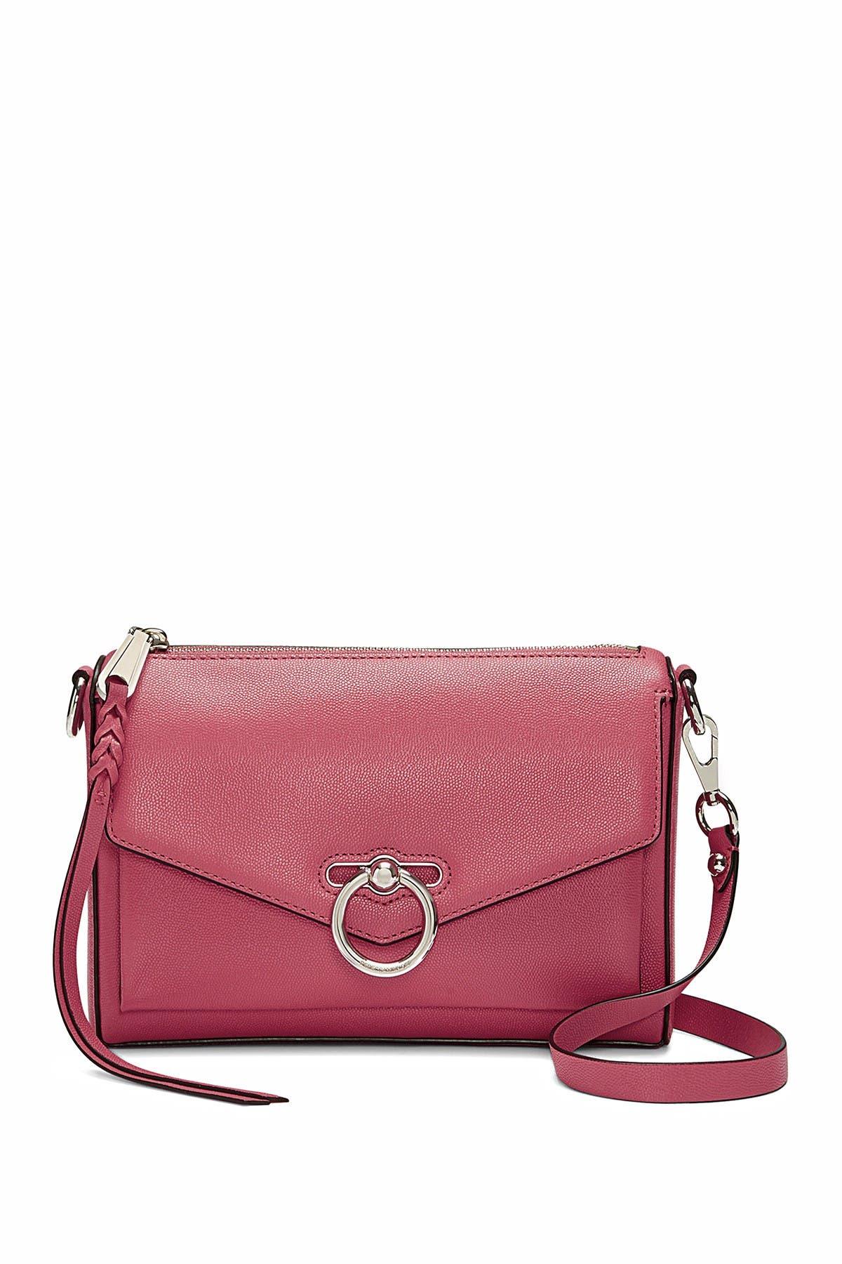 Image of Rebecca Minkoff Jean Mac Leather Crossbody Bag