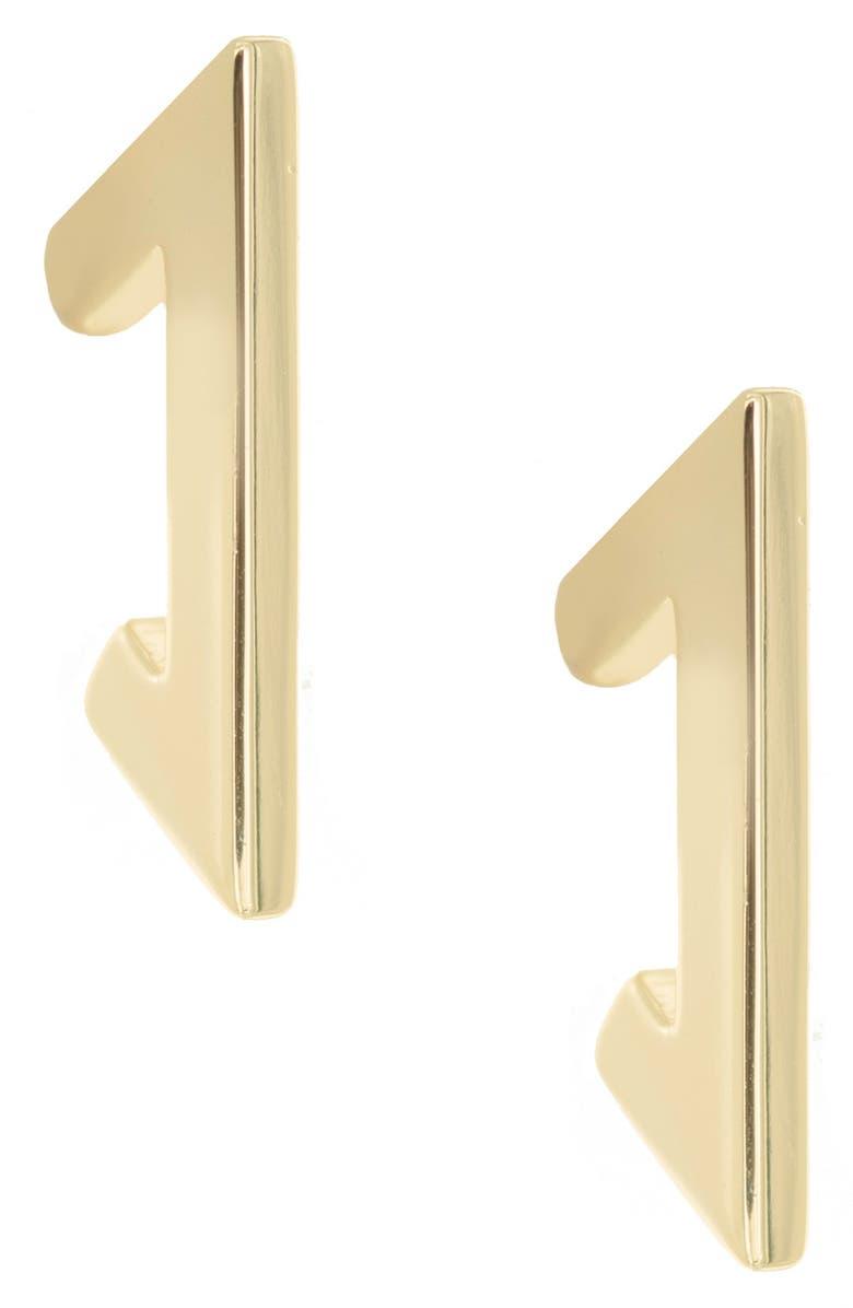 UNCOMMON JAMES BY KRISTIN CAVALLARI Metropolitan Earrings, Main, color, GOLD