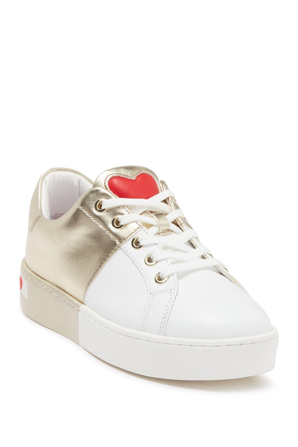 Image of LOVE Moschino Heart Two Tone Sneaker