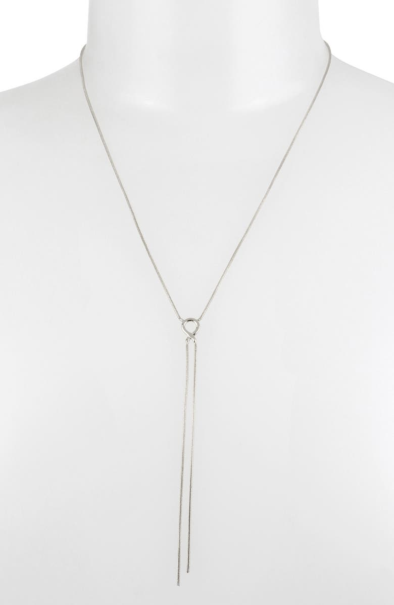 ALLSAINTS Delicate Y Necklace