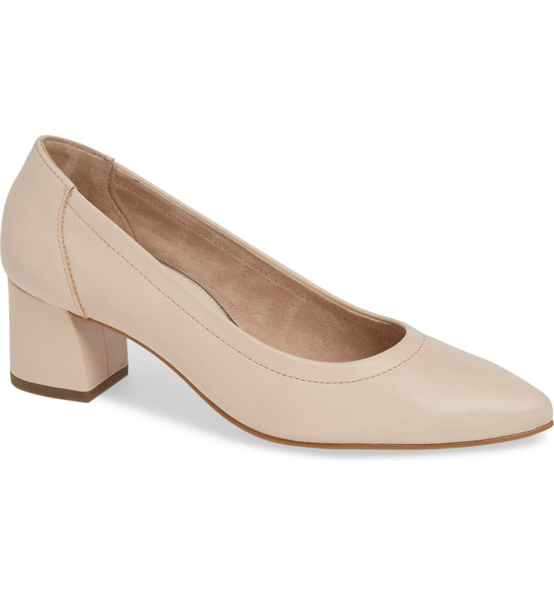 PAUL GREEN Tammy Pump, Main, color, BISCUIT SOFT NAPPA