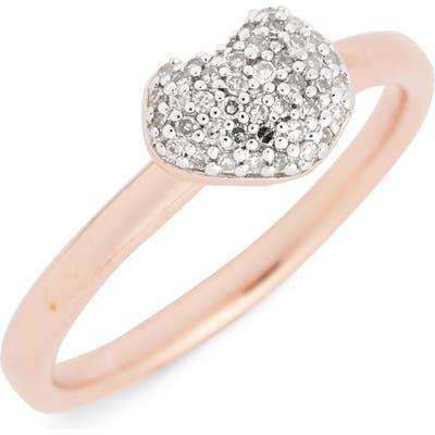 Monica Vinader Nura Pave Diamond Ring