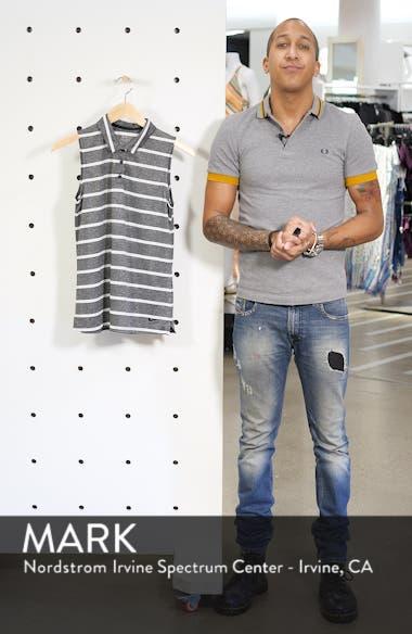 Dri-FIT Stripe Sleeveless Polo, sales video thumbnail