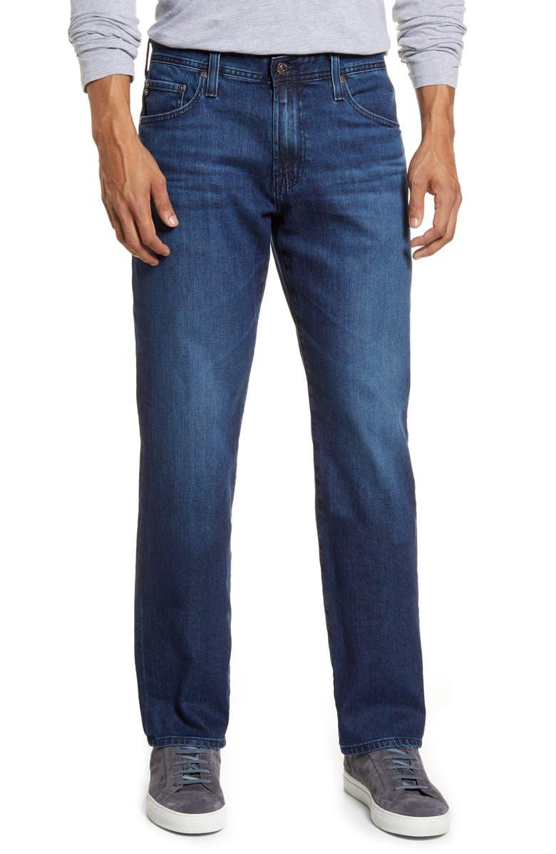 AG Graduate Slim Straight Leg Jeans, Main, color, JAMESTOWN