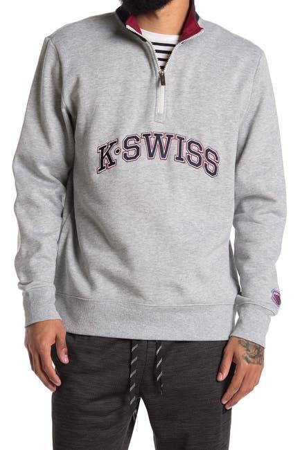 Image of K-Swiss The Zip 1/4 Zip Pullover