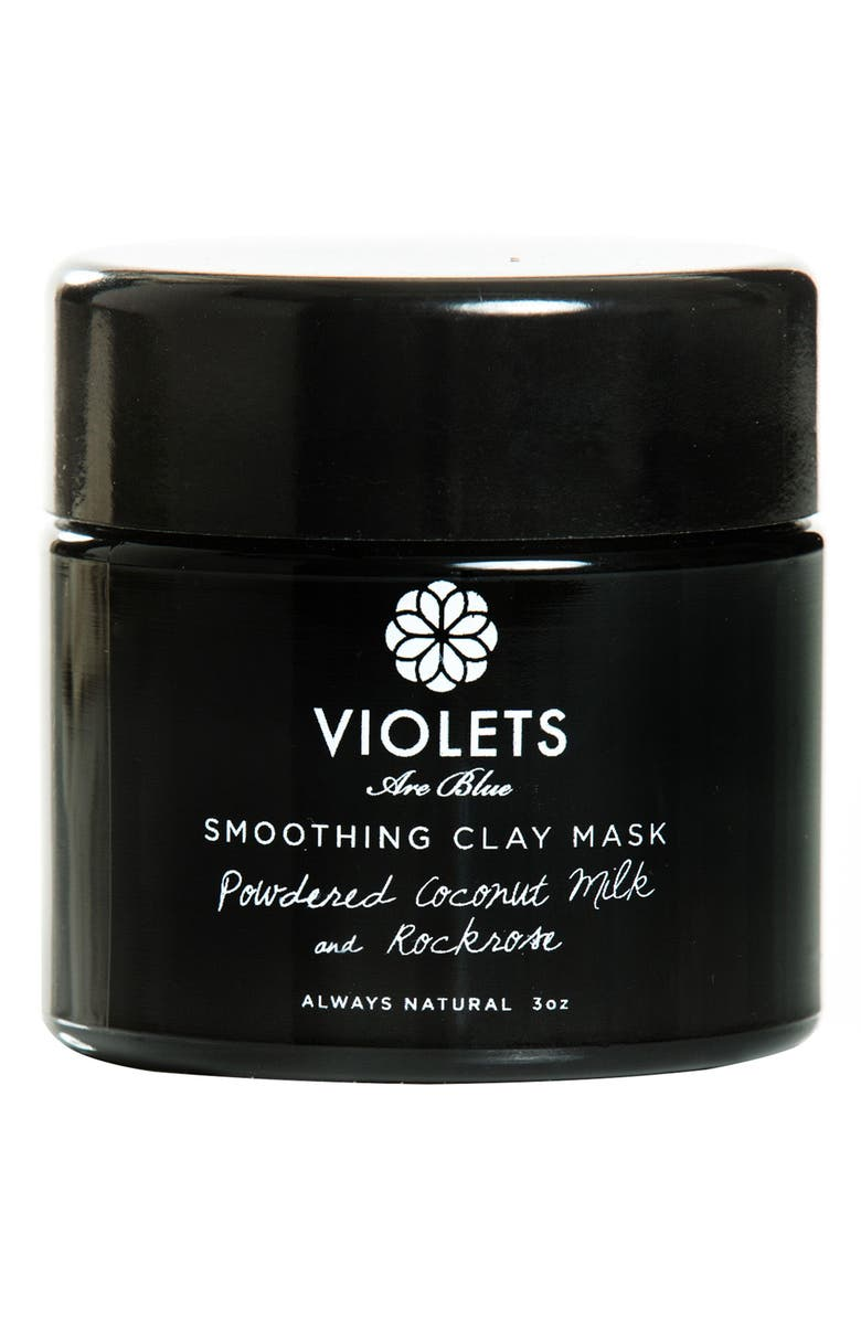 VIOLETS ARE BLUE Smoothing Clay Mask, Main, color, 000