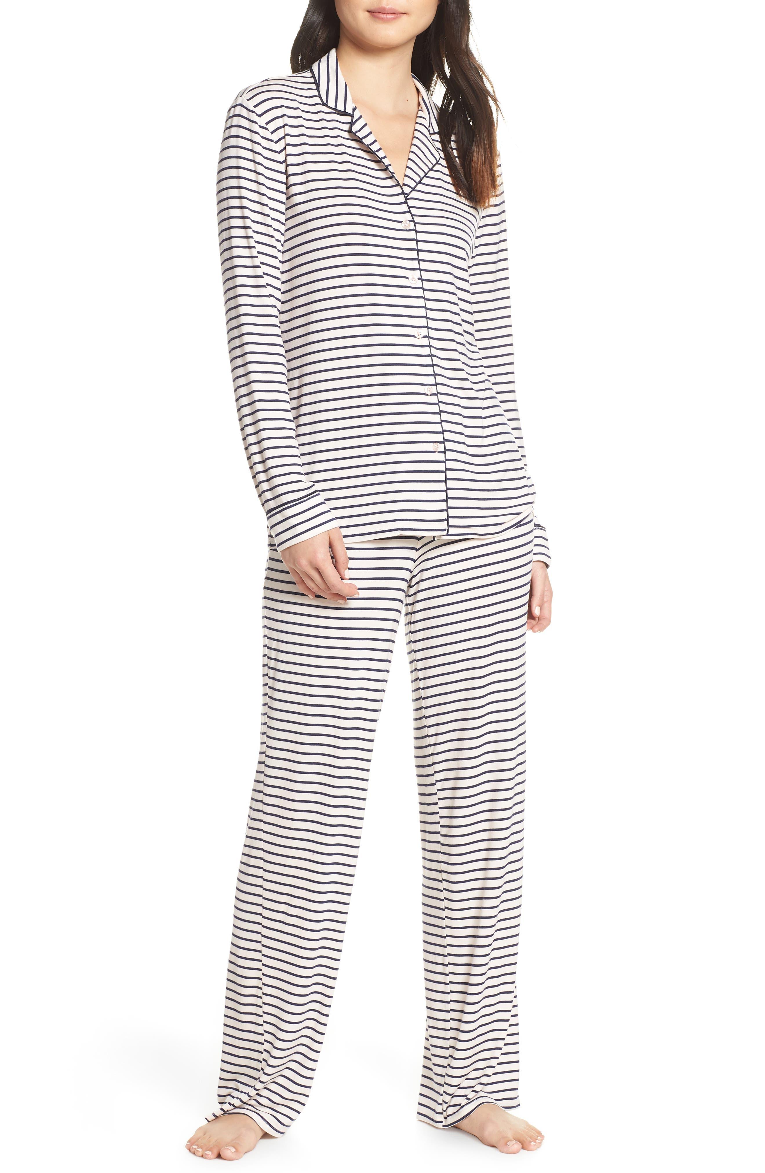 Nordstrom Lingerie Moonlight Pajamas, Pink