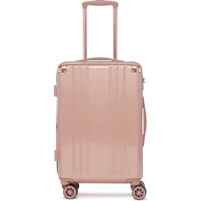 Calpak Ambeur 22-Inch Rolling Spinner Carry-On - Pink