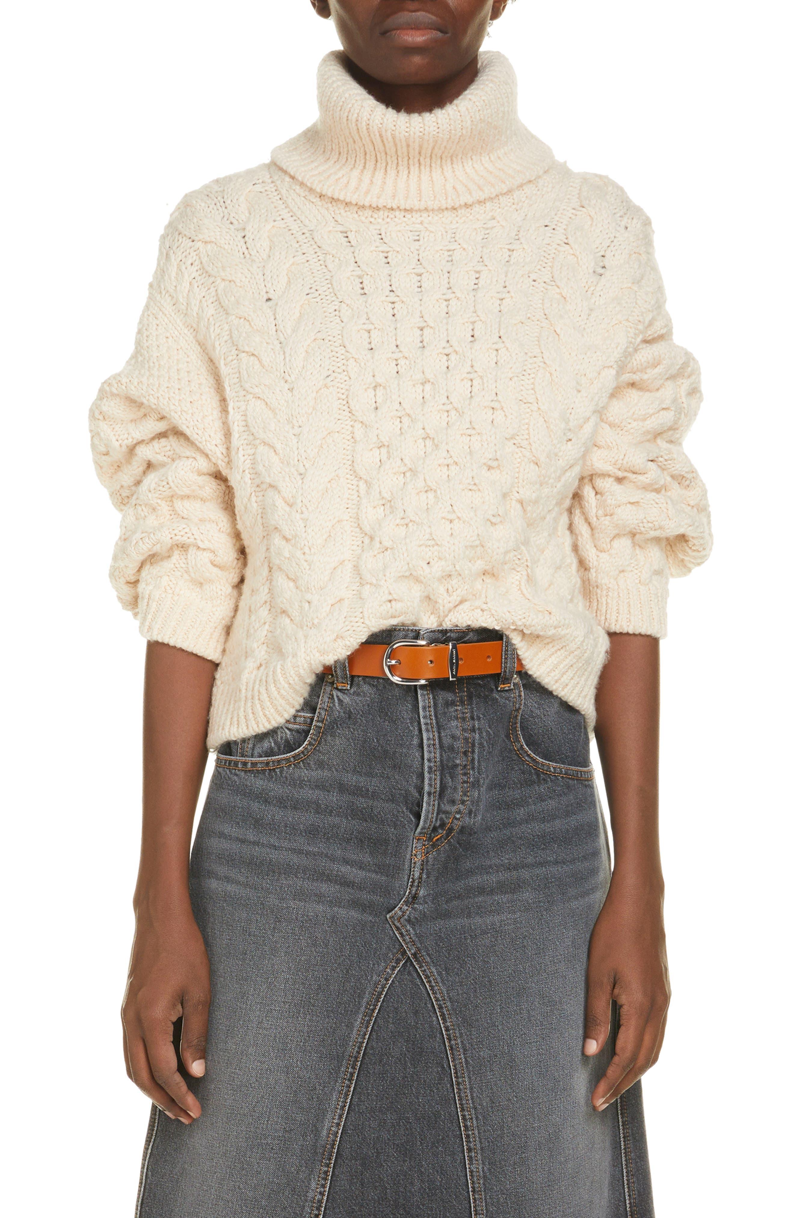 Isabel Marant Etoile Ingrid Wool Blend Turtleneck Sweater