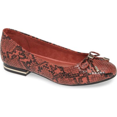 Kenneth Cole New York Balance Ballet Flat, Coral