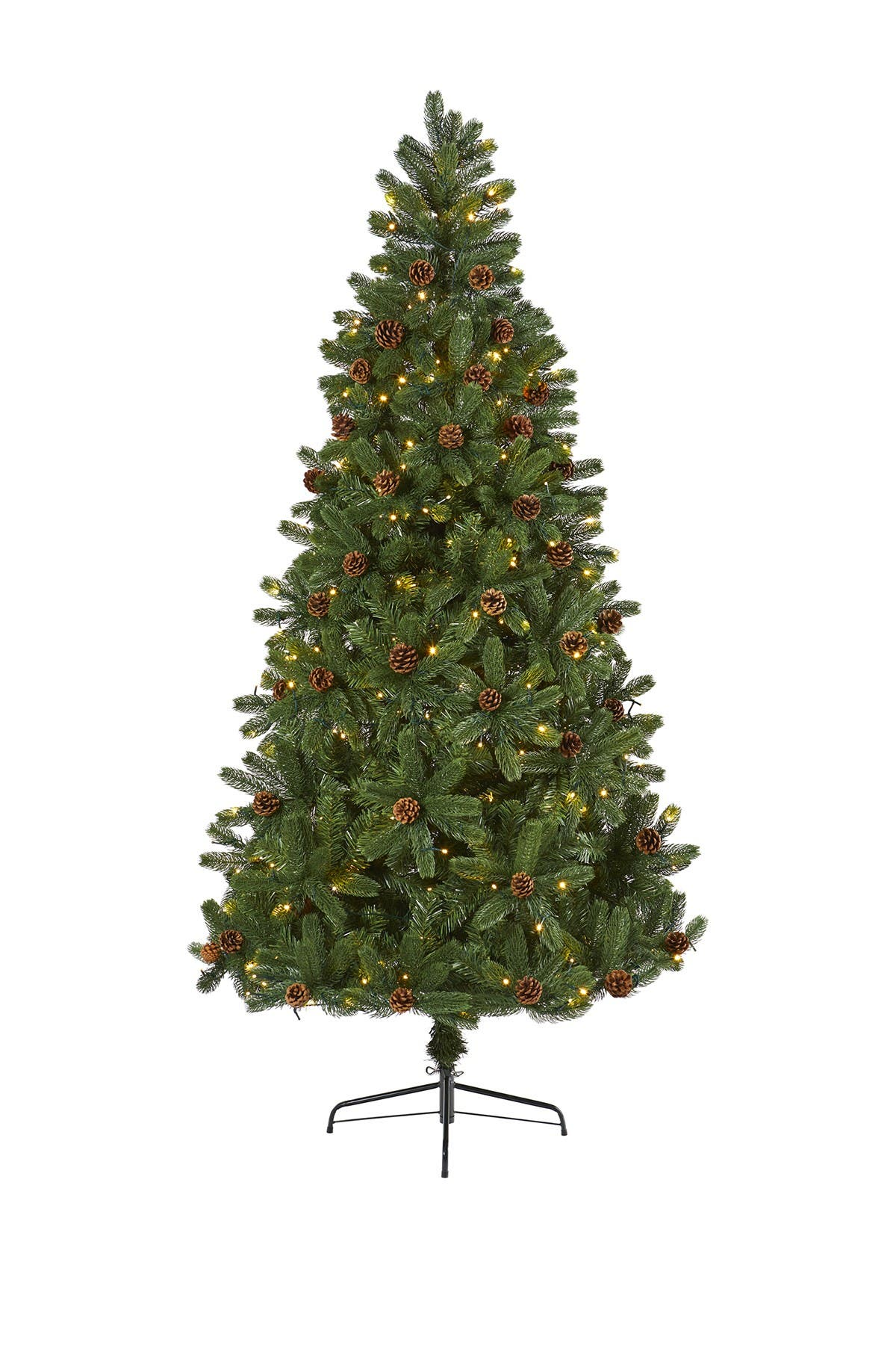 Image of NEARLY NATURAL 7.5ft. Rocky Mountain Spruce Artificial Christmas Tree