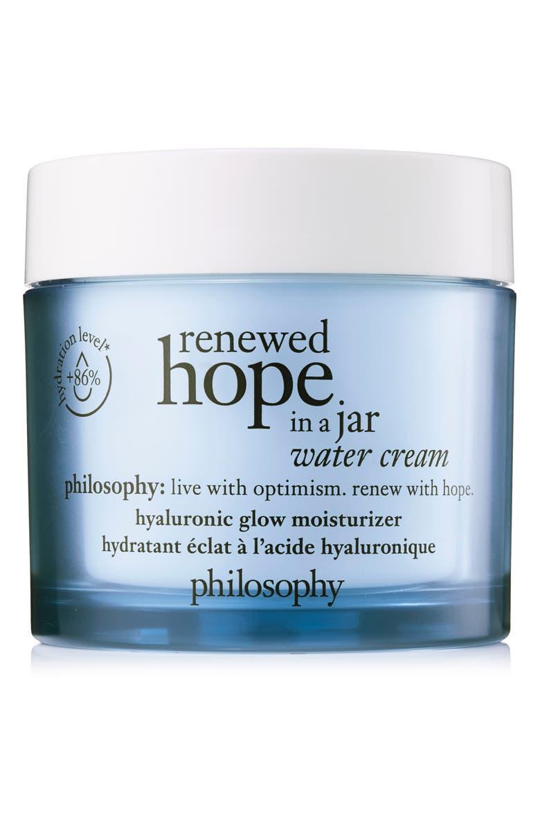 PHILOSOPHY renewed hope in a jar water cream, Main, color, NO COLOR