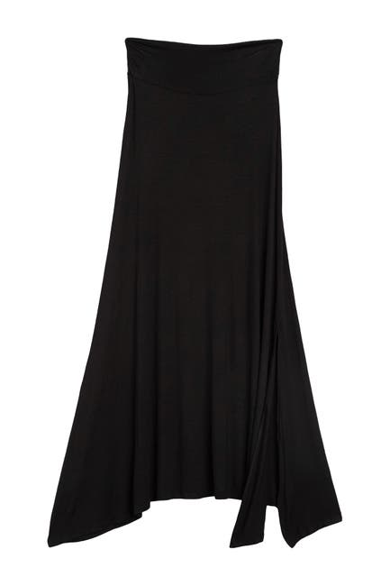Image of Bobeau Side Slit Knit Maxi Skirt