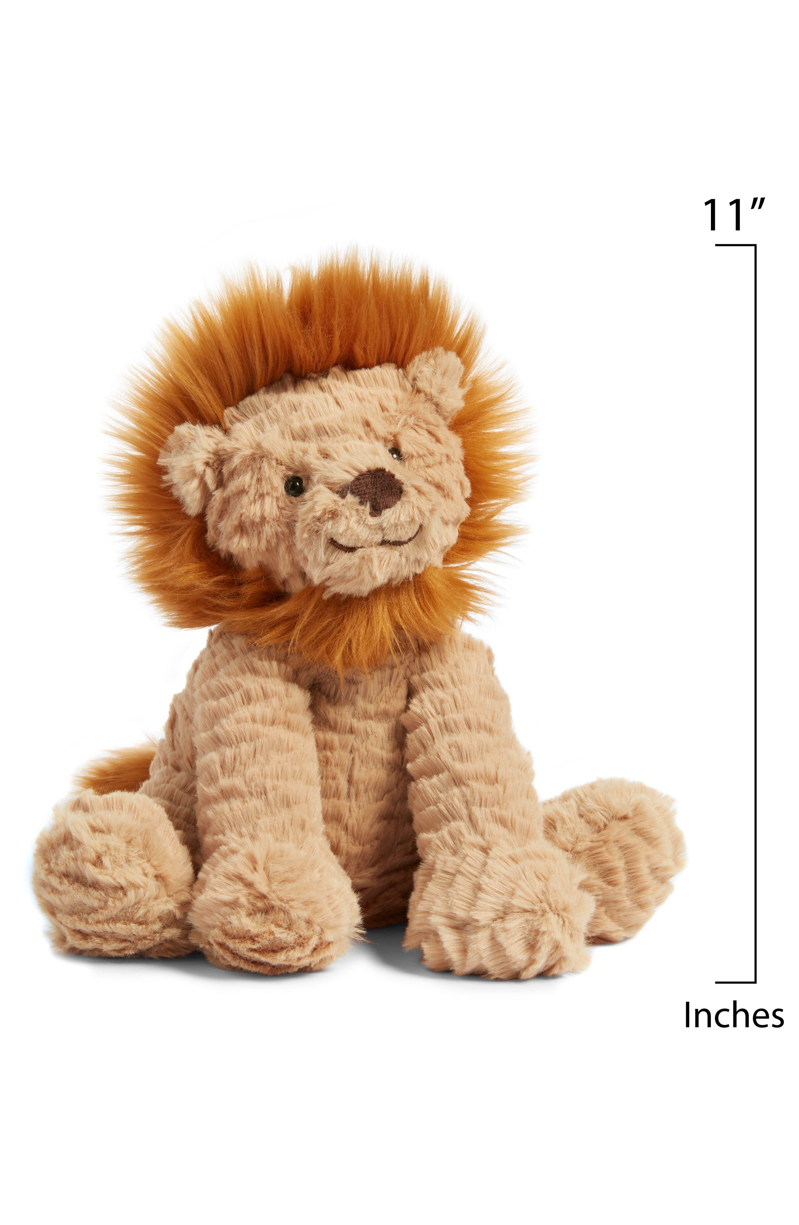 ,                             'Fuddlewuddle Lion' Stuffed Animal,                             Alternate thumbnail 2, color,                             BROWN