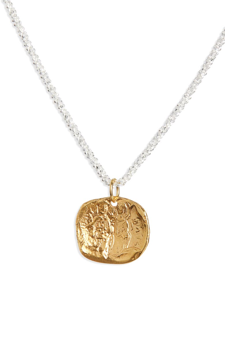 ALIGHIERI A Captured Memory Necklace, Main, color, GOLD