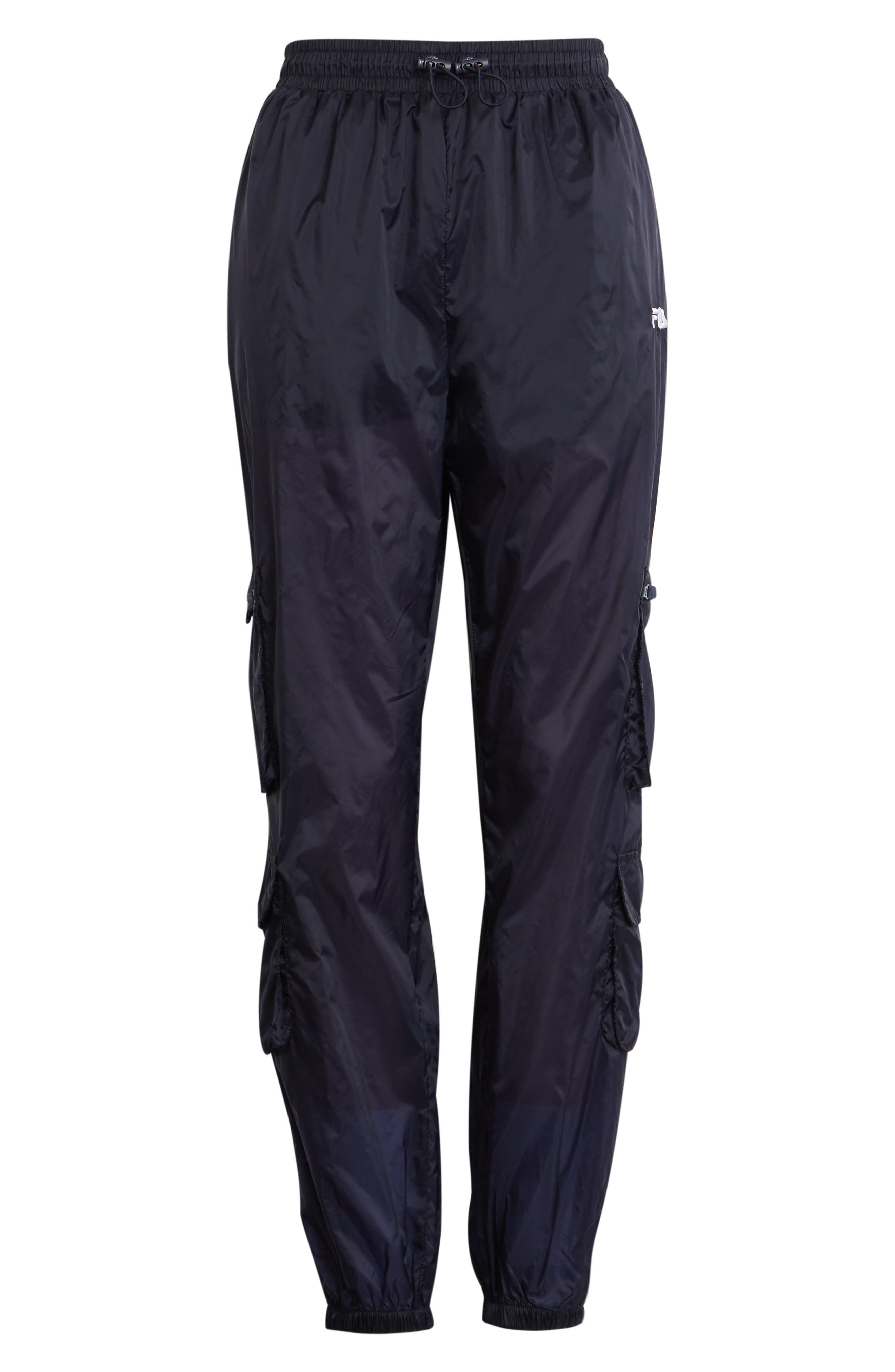 Women's Fila Keva Cargo Pants,  X-Large - Blue