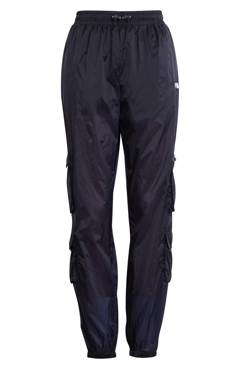 FILA Keva Cargo Pants, Main, color, Peacoat White