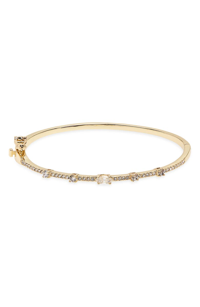 NORDSTROM Marquise Cubic Zirconia Pavé Bangle, Main, color, 710