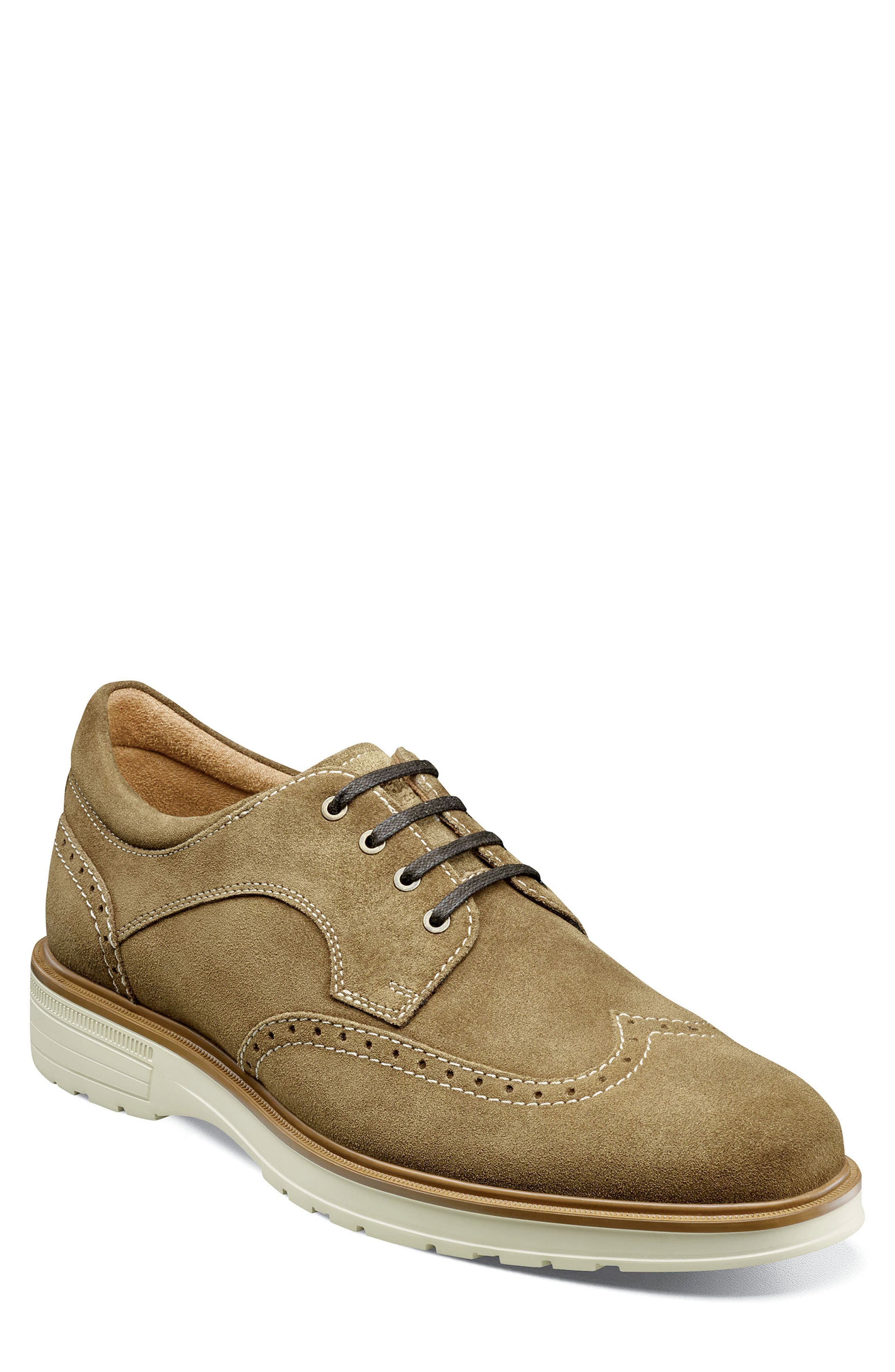 Image of Florsheim Astor Wing Tip Derby - Wide Width Available