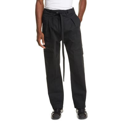 Fear Of God Baggy Cargo Pants, Black