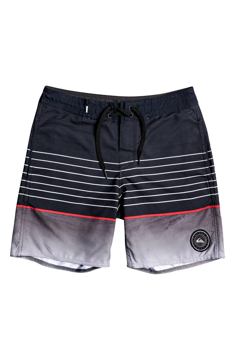 QUIKSILVER Swell Vision Board Shorts, Main, color, BLACK