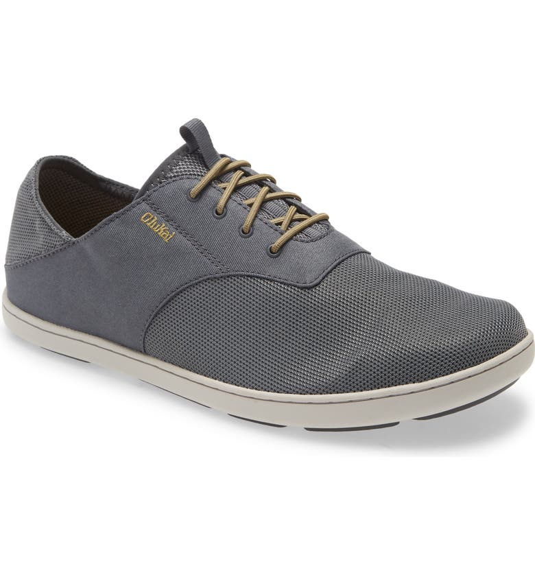 OLUKAI Nohea Moku Sneaker, Main, color, WIND GREY FABRIC
