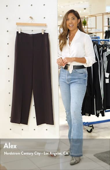Admiral Wide Leg Trousers, sales video thumbnail