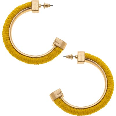 Canvas Jewelry Felicity Hoop Earrings