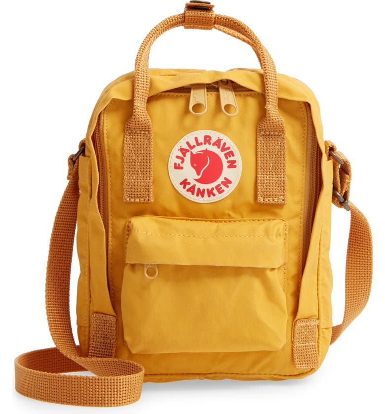 FJÄLLRÄVEN Kånken Sling Crossbody Bag, Main, color, OCHRE