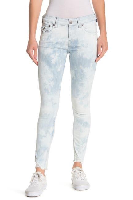 Image of True Religion Jennie Distressed Hem Ankle Jeans