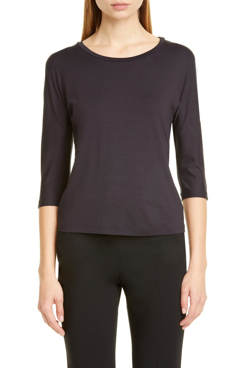 MAX MARA Circe Tee, Main, color, ULTRAMARINE