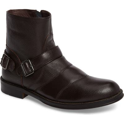 Zanzara Howson Buckle Strap Boot- Brown