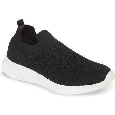David Tate Tiptop Knit Sneaker- Black