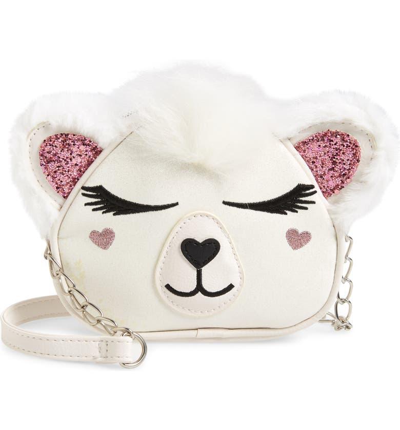 OMG Polar Bear Crossbody Bag, Main, color, 100
