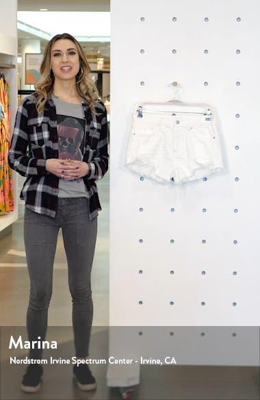 Loving Good Vibrations Cutoff Denim Shorts, sales video thumbnail