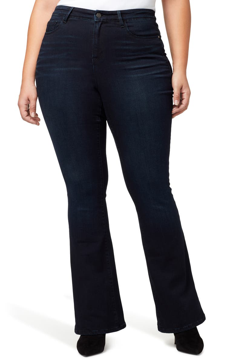 SANCTUARY Flare Jeans, Main, color, 401