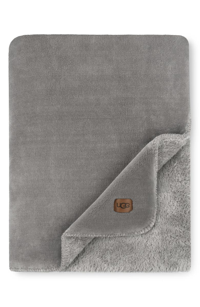 UGG<SUP>®</SUP> Whistler Throw Blanket, Main, color, 020